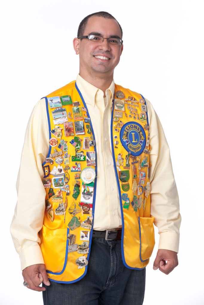Lions Club Man with Vest Photo
