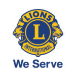 Lions We Serve Logo