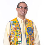 Man in Lions Vest Photo