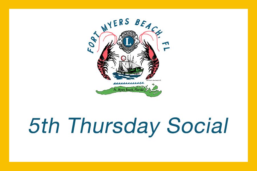 5th thursday social